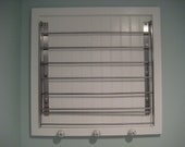 JULIE  Wonderful ETSY wall mounted laundry drying rack