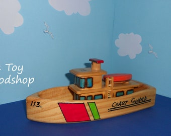 Coast Guard Boat - Large (1 left)