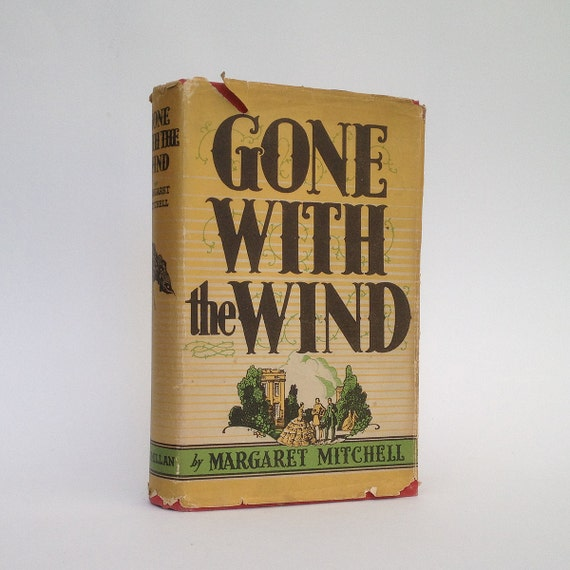 Gone with the Wind by Margaret Mitchell, classic vintage novel, 1949 edition, hardback