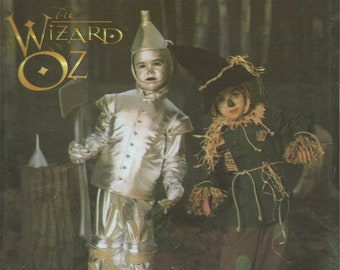 "Simplicity Costume Sewing Pattern 5414 - Child's ""Wizard of Oz"" Tin Man & Scarecrow Costumes (3-8)"