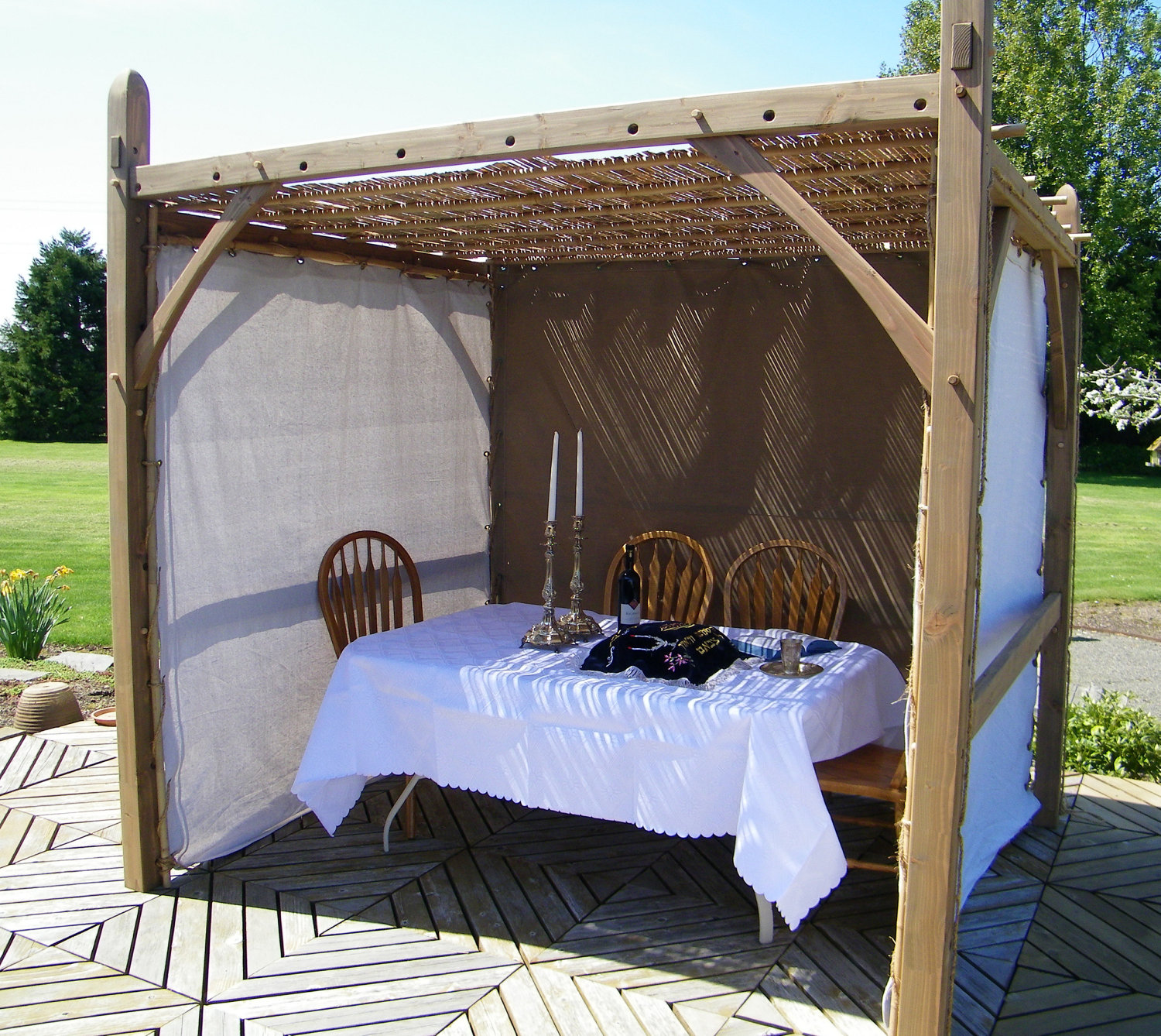 Sukkah Chuppah Basic Traditionally Crafted From Sustainable