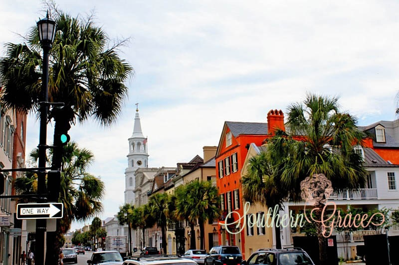 Charleston South Carolina Downtown By Southerngracephoto On Etsy