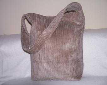 2- tote,bag,purse,color beige, handmade