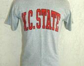 Vintage 80's NC STATE Wolfpack T-shirt sz Medium