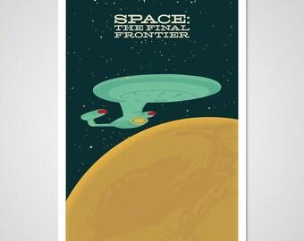 Final Frontier - 12x18 Art Print
