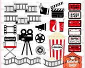 Movie Night ---- Weekend Invitations Cards Making ---- BB 0226