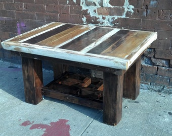 Coffee Table from reclaimed wood