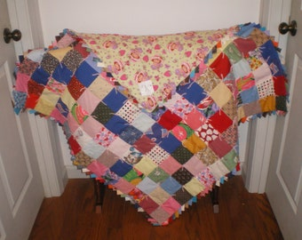 Baby Girl Strawberry Shortcake Quilt-70
