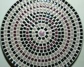 """12"""" Decorative Mosaic Tile Plate"""