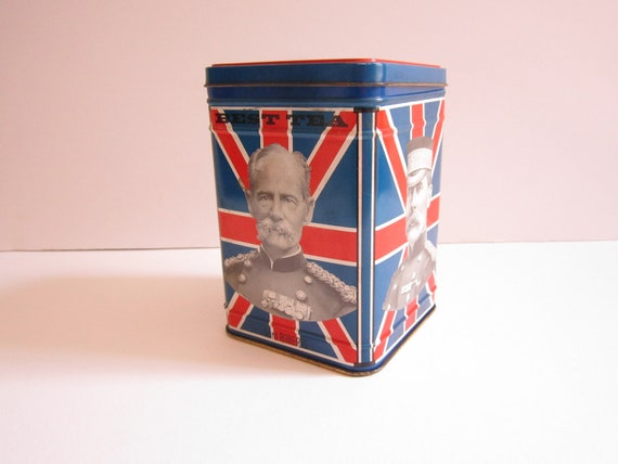 English Tea Tin-Union Jack