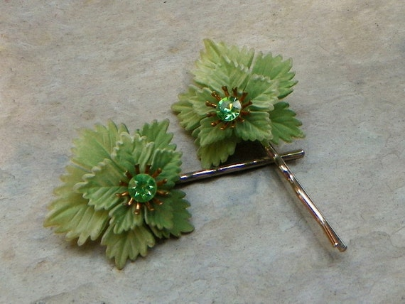 Decorative Woodland Rustic Fairy Bobby Pins