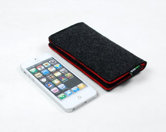 25% OFF Felt iPhone 5 5S 5C Sleeve Case Bag iPhone 4S 4 Case Wallet Cover Wallet Pouch E1028