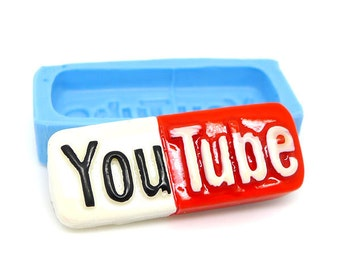 Youtube Cabochon 32mm Bakery Flexible Mould 344m  Silicone Mould BEST QUALITY