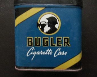 Vintage Bugler Cigarette case Tin
