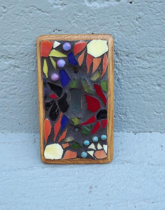 Mosaic switchplate