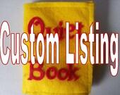 custom listing Quiet Book Marble Maze