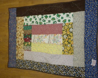 Patch work Baby/lap quilt