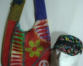Love and Peace Hobo Bag Series with FREE Cap (006)