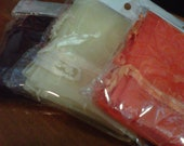 9x6 LARGE Organza Bags Lots of Colors
