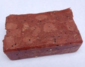Double Milled Cherry Scented Tallow Soap with Cherry Pits