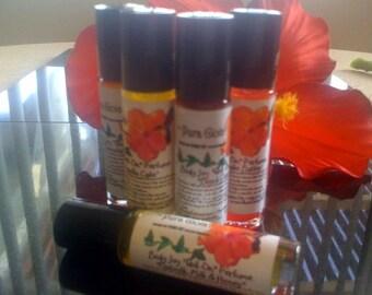 Perfume Roll On Perfume Fragrant Coconut Oil Body Joy Purse Size Pura Gioia