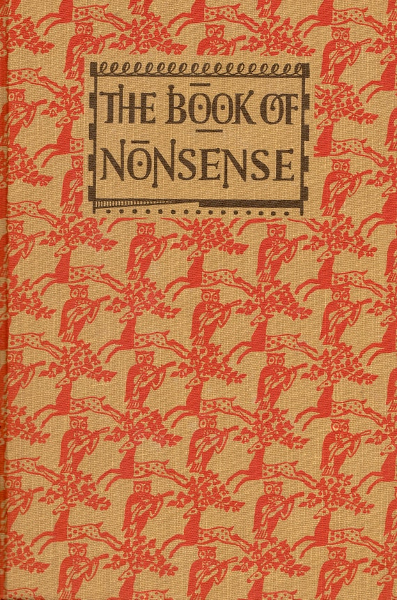 The Book of Nonsense edited by R.L. Green