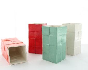 Porcelain Tumblers Set of 4