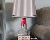 Makers Mark Bottle Lamp
