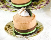 Mint Chocolate Mousse Play Food