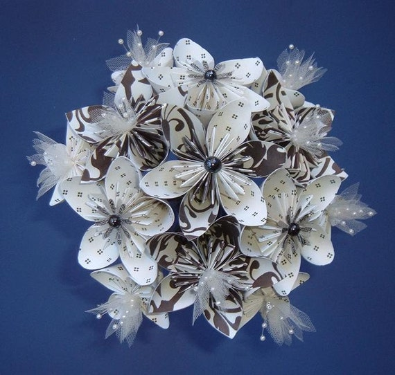 how to make a kusudama flower bouquet