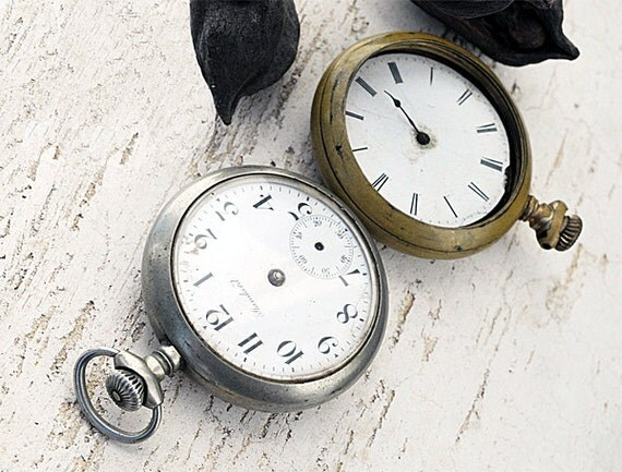 Standard Rail Road Pocket Watches Set of Two