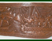 Palauan Story Board - Rare - Highly Collectable - Beautiful Pacific Island Art - On Sale - 25% off