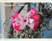 Breast Cancer Awareness - Hair Bow