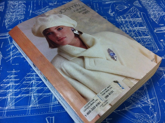 Vintage JCPenney Fall and Winter 1985 Catalog