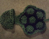 Hats with critters capes or diaper covers