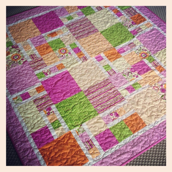 Quilt Pattern For 9 Fat Quarters : Dan s Climb Quilt Pattern PDF by HeatherSpenceDesigns on Etsy