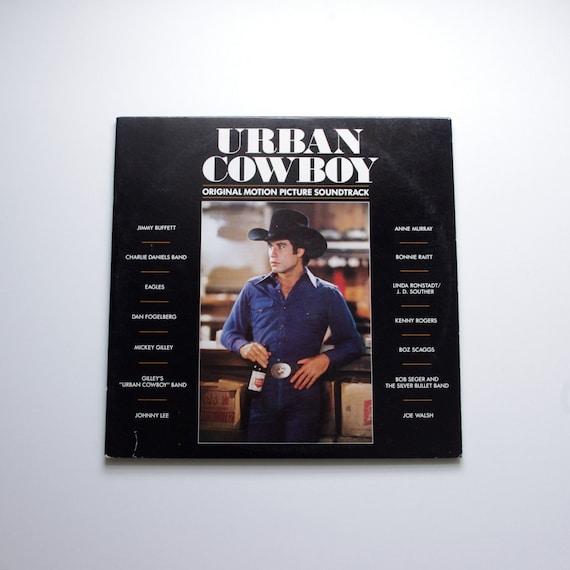 Urban Cowboy - Original Sountrack -  Double Album Vinyl Record 1980 - Kenny Rogers, Eagles, Jimmy Buffet, John Travolta