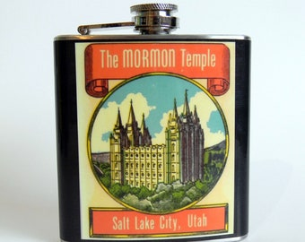 Flask : Mormon Temple