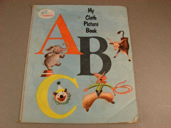My Cloth Picture Book ABC 1954   Made in USA
