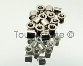 11/0 Delica Seed Beads Palladium Plated 5 Gram Bag DB38 #45-113038