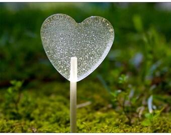 Summer Wedding Favors // 6 Marshmallow Hearts // Clear Lollipops // Winter Wedding // Unique Wedding Favor // Fall Wedding