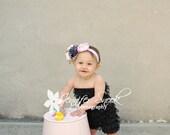 Soft Cuddly Cozzy Newborn Pink Faux Fur Nest Photography Prop 18x30