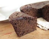 Gluten Free Chocolate Gingerbread Loaf  -round holiday gingerbread loaves-