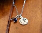 Tennis Girl Necklace