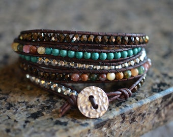 My Favorite Five Wrap Bracelet