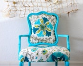 CHAIR SALE - Coastal Inspired Upholstered Chair