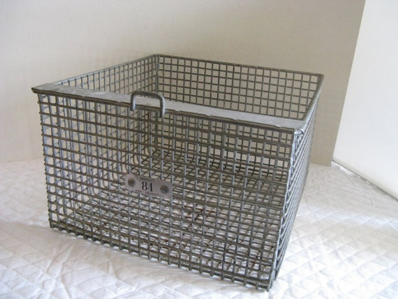 industrial wire basket heavy duty number 84