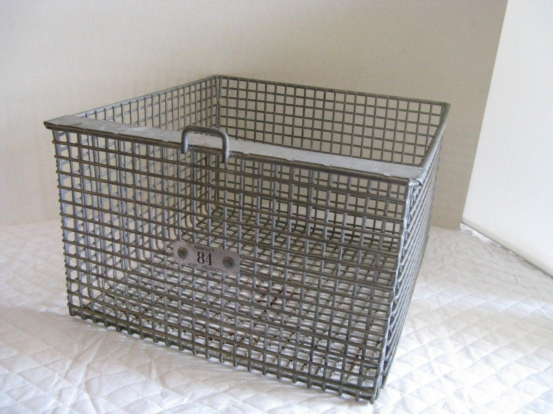 industrial wire basket heavy duty number 84. Black Bedroom Furniture Sets. Home Design Ideas