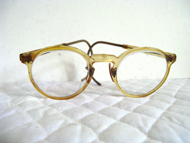 retro vintage eyeglasses frames plastic mad scientist