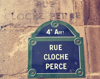 """The old and the new in Paris, France 8""""X8"""" photograph."""